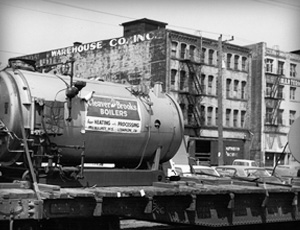 Cole Industrial History Boiler Equipment