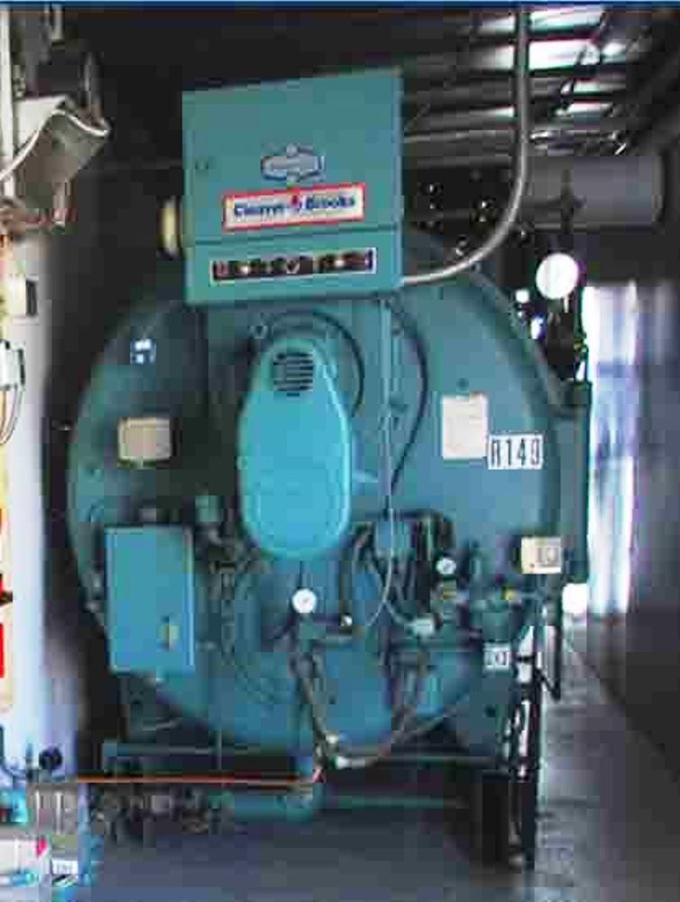 mobile rental firetube boiler