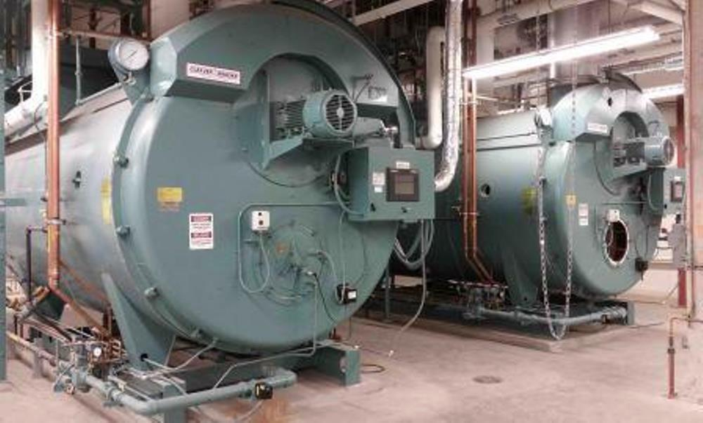 Cleaver-Brooks Firetube boiler upgrade