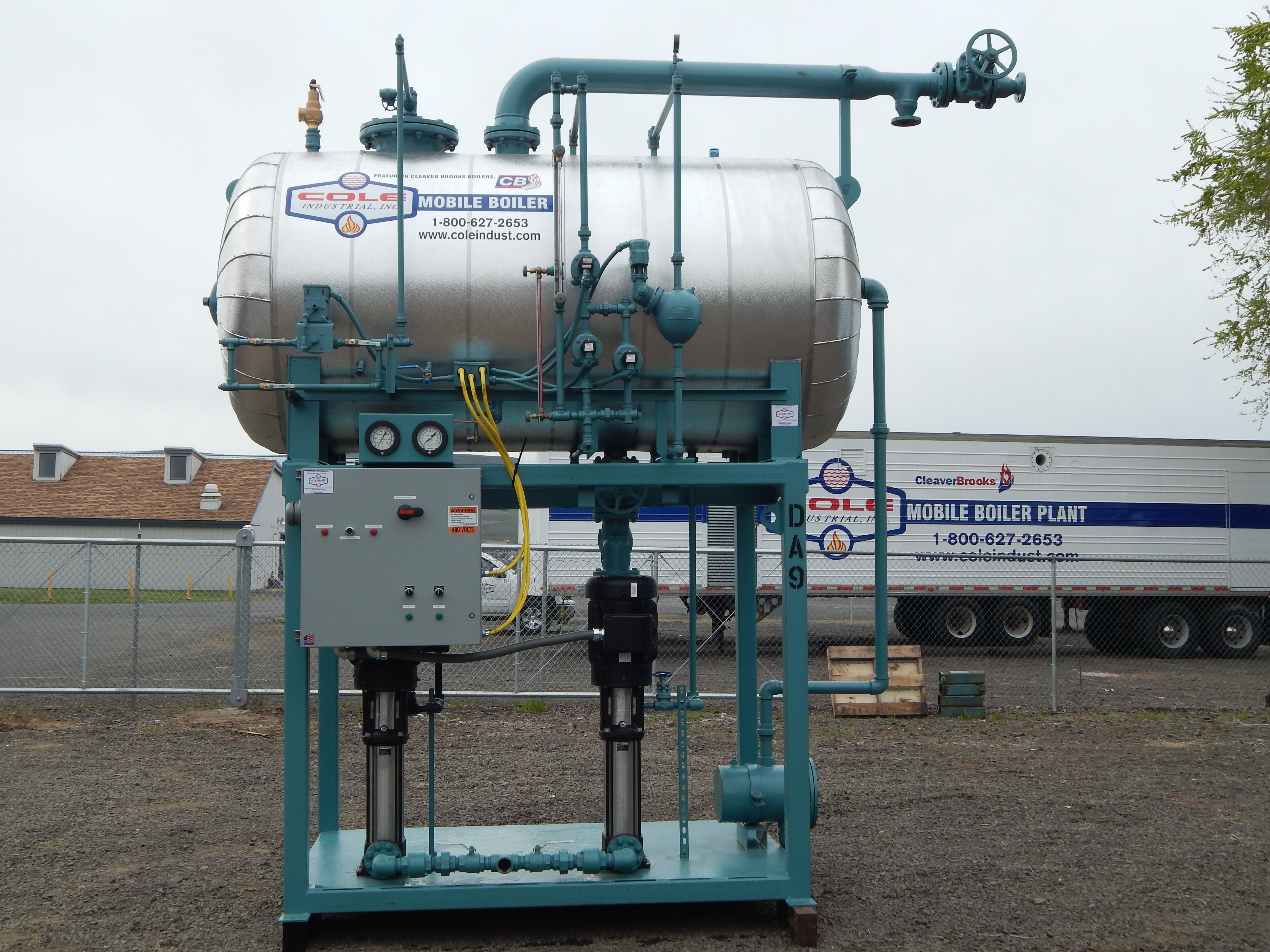 Rental Deaerator water treatment