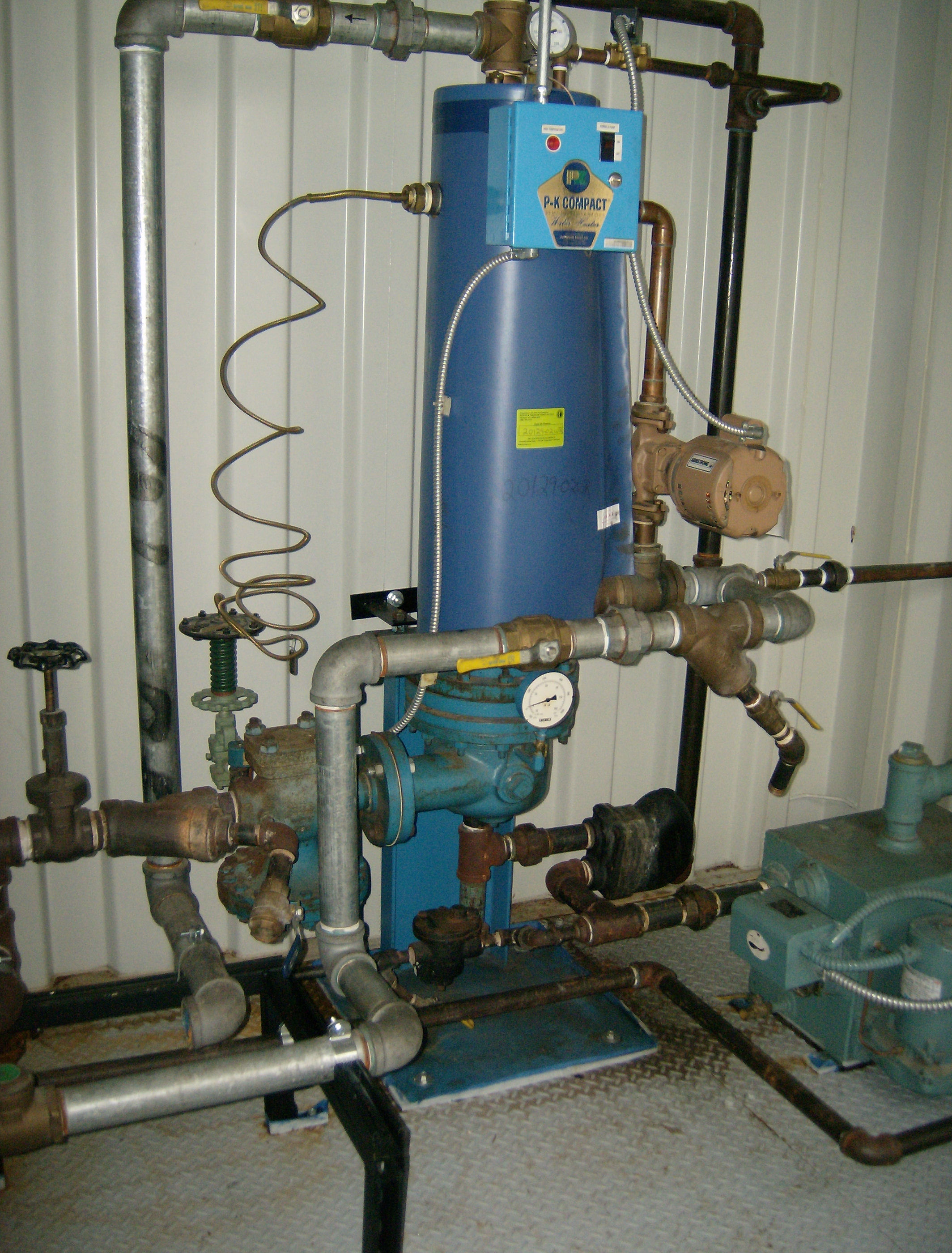 Domestic hot water system